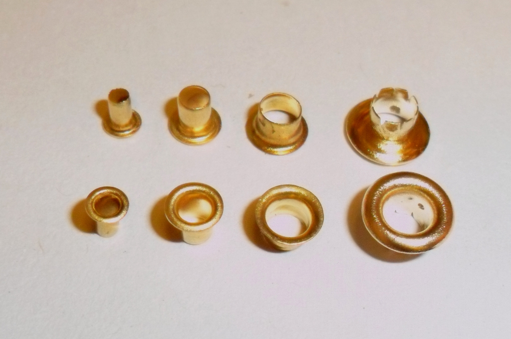 3mm Brass Eyelets