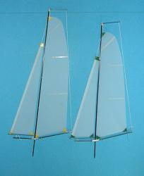 RCSails RG65 Swing Rig Set - B & C Rig, RCSails - Sailing Mono- and Multihulls