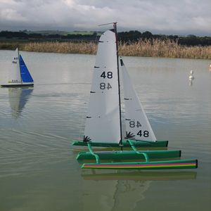 Benson's Nightmare MK VIII - Mini40 Trimaran